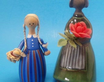Vintage Swedish Figurines/Dolls, Susi Lull and Elsi Bourelius