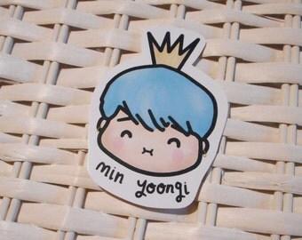 Min Yoongi / Suga BTS Fanart - Sticker