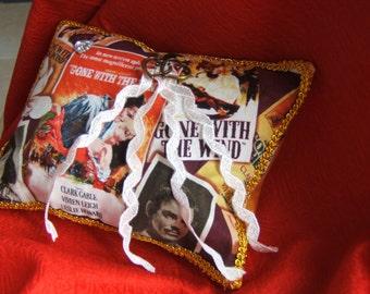 movie theme wedding pillow