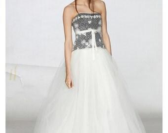Wedding Skirt, Bridal Tulle Skirt, Bridal Separates, Full Circle Skirt, Tulle Long Skirt, Womens Maxi Skirt, Bridal Skirt, Long Formal Skirt