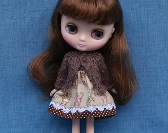 Middie Blythe Cardigan - Cocoa Brown