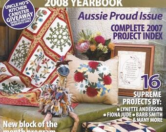 Australian Homespun Magazine Past Issue - Number 56 - Volume 9 Number 1 2008 Yearbook
