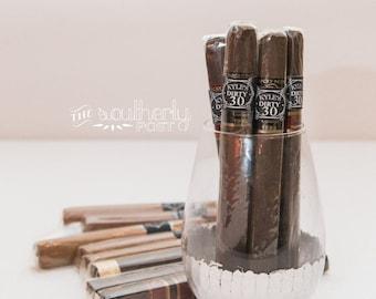 Dirty 30 Cigar Labels - Matching Item - Chalkboard - Printable - Custom digital file