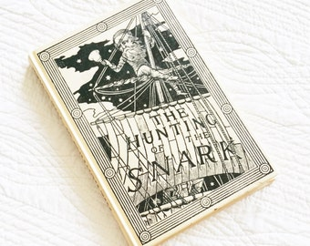 """Vintage """"The Hunting of the Snark"""" by Lewis Carroll, 1980 Publication, Olives and Doves"""
