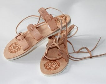 LEATHER sandals bohemian style