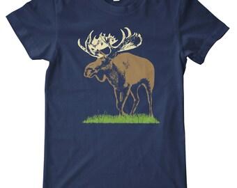 Moose American Apparel T-Shirt