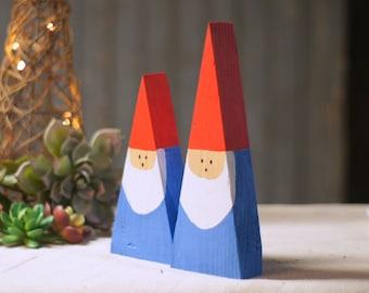 Reclaimed Wood Gnome, Wooden Gnome, Rustic Home Decor, Garden Gnome, Christmas Gnome, Miniature Gnome, Woodland Gnome, Forest Gnome, Tiny