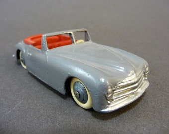 Miniature Simca S Sport, 1948 model, Dinky toys made in France by Meccano