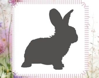 Bunny Animal Stencil Reusable Craft Stencil