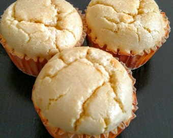 Low Carb High Protein Organic Lemon Muffins ( Paelo and ketopgenic).