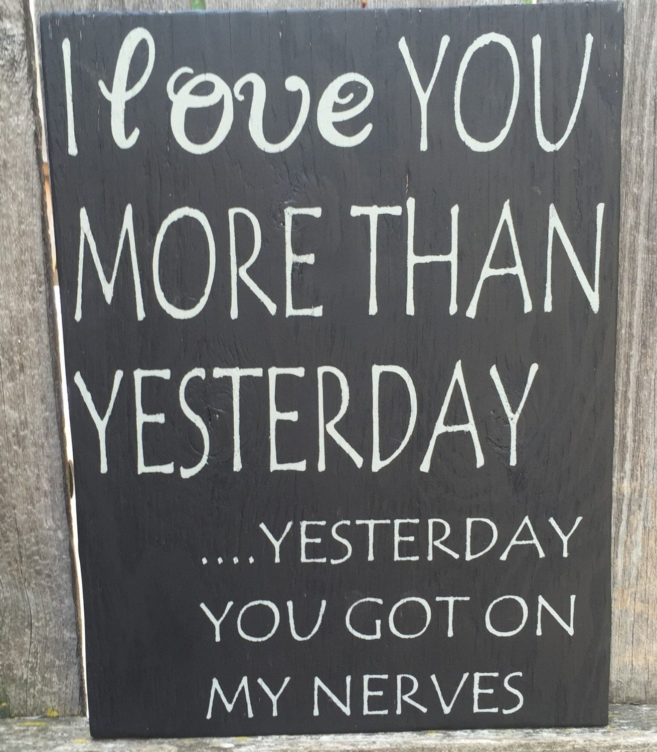 I Love You More Today Than Yesterday: I Love You Sign I Love You More Today Than Yesterday