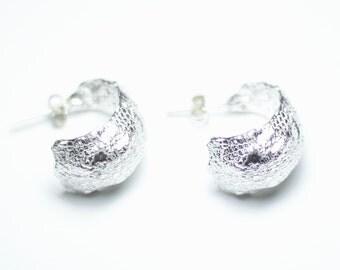 925 Silver earrings, handmade.