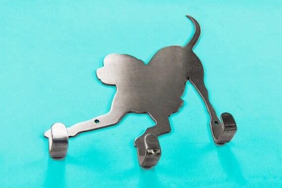 Playful Dog Leash Holder
