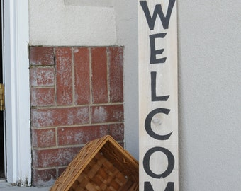 WELCOME Sign Perfect for your front porch decorations