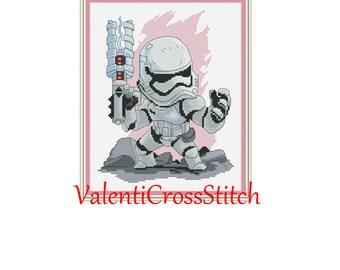Stormtrooper STAR WARS Cross Stitch Patterns, Pattern, Star Wars, pdf