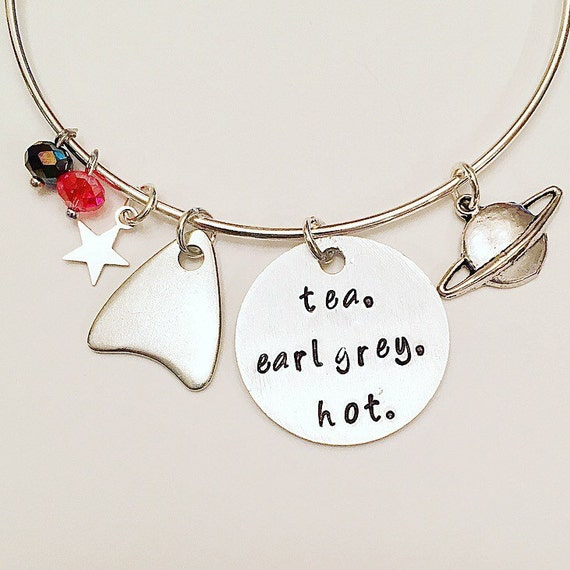 Tea. Earl Grey. Hot Bangle | Star Trek Gift Guide