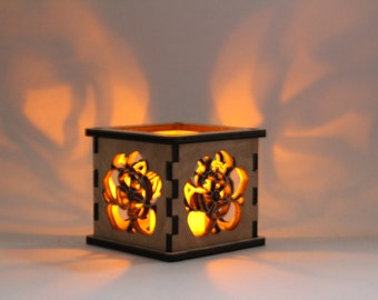 Magnolia - Tea Light Holder