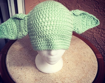 Yoda/Green Alien hat