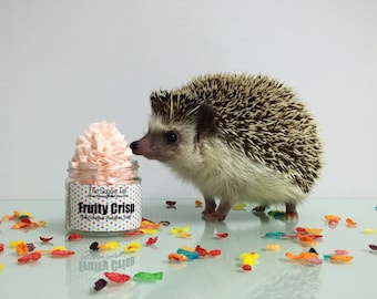 Fluffy Whipped Hedgehog Soap // Fruity Crisp // the suggie tail