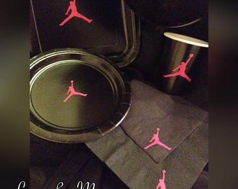 Jumpman Inspired Party Set