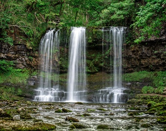 Waterfalls, Welsh Landscape Photography, Brecon Beacons, Wales