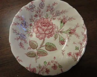 Vintage Johnson Bros Rose Chintz Berry Bowl, Vintage Chintz China,Vintage Johnson Bros Berry Bowl, Collectable China, Collectable Berry Bowl