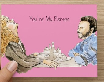 Greeting Card, When Harry Met Sally, Romantic, Funny