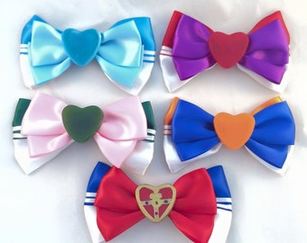 Sailor Moon Super S Hair Bow (+ Sailor Scouts)
