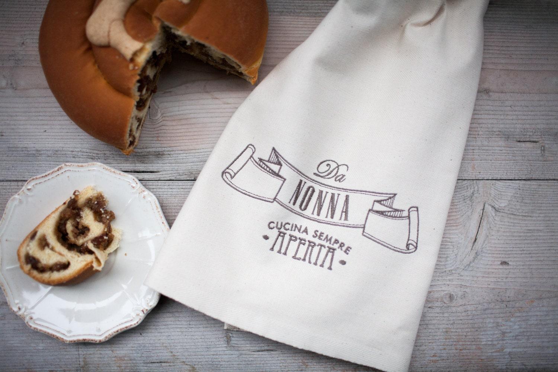 Canovaccio da cucina in cotone italiano con ricamo - Canovaccio da cucina ...