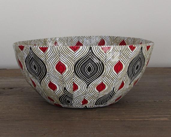 Dekorative Schale Art Schüssel afrikanische Schale