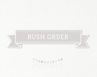 Rush Order to any purchase