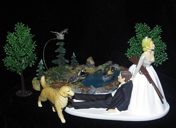 duck hunting wedding cake toppers duck wedding cake topper reserved for kathy 13777