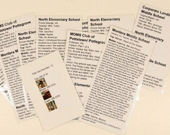 Souvenir: HARRIS Corporation (VA) Title-Cards