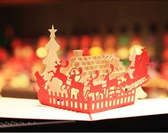 3D Christmas card hand made
