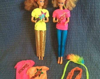 Vintage Barbie Rockers Dolls/80's Barbie/Barbie and the Rockers