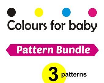 Bundle 3 PDF Patterns 15,6 Dollars : choose any shop pattern