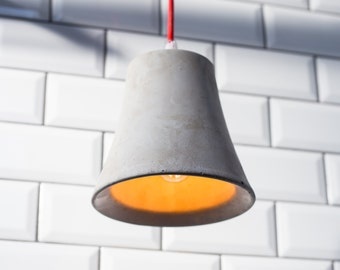 Industrial Concrete Pendant Light Shade