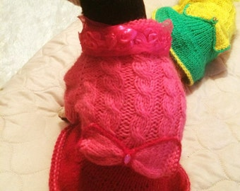 dog clothes, Dog dress, dog clothing, puppy dress, puppy clothes