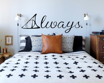 Always Vinyl Wall Decal- Harry Potter