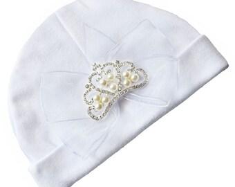 Baby bonnet girl Crown