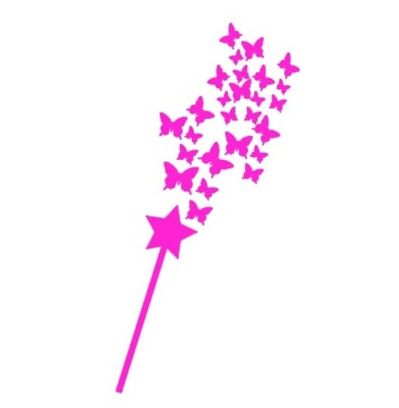 Fairy Wand Decal Magic Wand Decal Fairy Dust Decal by ...