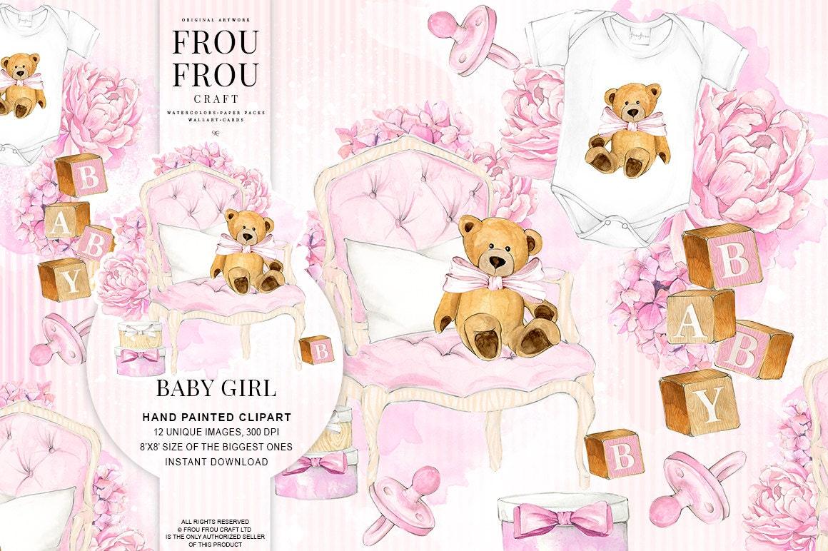 Baby Clipart Baby Girl Clip Art Pregnancy Nursery