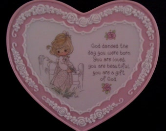 1994 - Enesco - Precious Moments Collection - Gift of God Plaque
