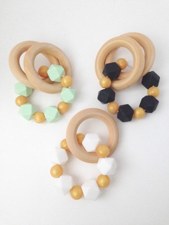 Etsy Wooden Teething Rings