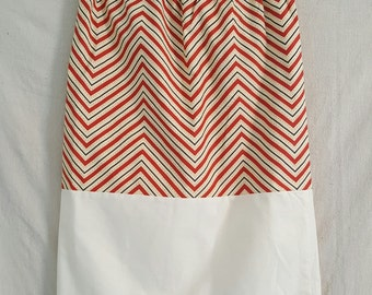 Sale! 20% Off!- Modest Chevron Skirt