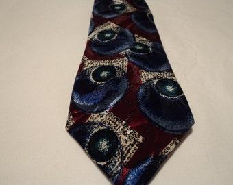 French Vintage Guy de Minamont Paris tie  (00653)