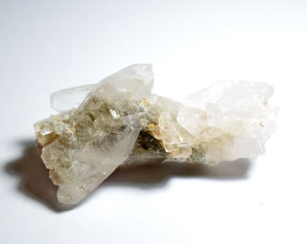 40g Natural Clear Quartz Point Cluster (ClrQtzCl01)