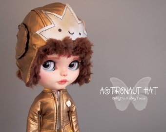 Reserved for Paula! - OOAK Blythe handmade Astronaut Helm   - Collection 2016