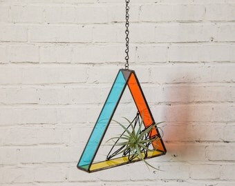 Hanging Air Plant Triangle