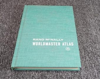 Rand Mcnally Worldmaster Atlas C. 1961